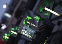 <p>BNP Paribas a estimé mercredi être en mesure d'achever d'ici à la fin de l'année son plan de réduction de bilan entamé au second semestre 2011, au plus fort de la crise de la dette dans la zone euro. /Photo d'archives/REUTERS/Mal Langsdon</p>