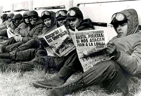 Falklands War: the Argentine side