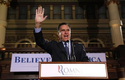 Romney sweeps three primaries
