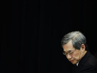 Tokyo Electric Power Co (TEPCO)'s former president Masataka Shimizu looks down during questioning from the panel of the National Diet of Japan Fukushima Nuclear Accident Independent Investigation Commission in Tokyo June 8, 2012. REUTERS/Yuriko Nakao