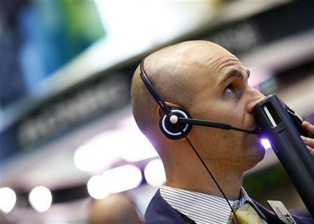 A trader works on the floor of the New York Stock Exchange June 12, 2012. REUTERS/Brendan McDermid