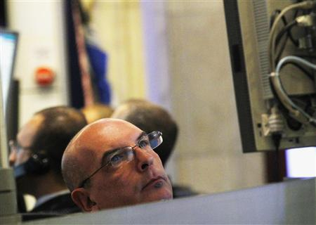Traders work on the floor of the New York Stock Exchange, June 25, 2012. REUTERS/Brendan McDermid