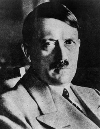 This picture shows an undated file picture of the German ''Fuehrer'' Adolf Hitler. WR/FMS