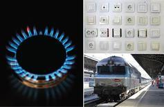<p>Le gouvernement a décidé de limiter à partir du 1er août les hausses de tarif de l'énergie (gaz et électricité pour les ménages) et du train (Intercités et TER) à l'inflation, soit 2%. /Photo d'archives/REUTERS</p>