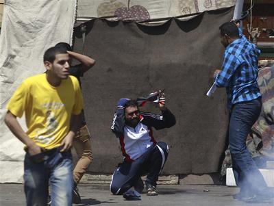 Protests erupt in Egypt