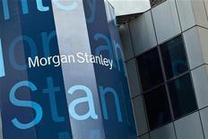<p>Morgan Stanley s'est entendu avec Citigroup pour acquérir ses parts dans leur coentreprise de courtage Morgan Stanley Smith Barney. /Photo prise le 22 mai 2012/REUTERS/Andrew Burton</p>