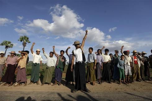 Farmers against mining