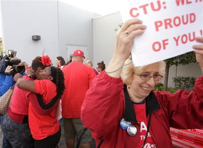 Chicago teachers strike ends