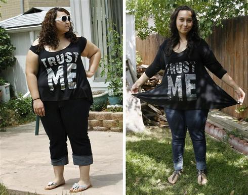 Jazmine's transformation