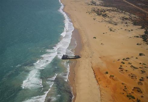 Somalia from above