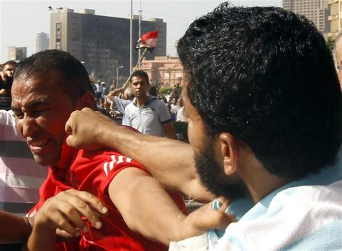 Protests sparked in Egypt