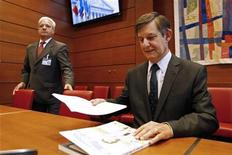 <p>Jean-Pierre Jouyet, le futur président de la BPI. La Banque publique d'investissement (BPI), nouvel organisme destiné à aider au financement des PME françaises, aura pour mission première de soutenir des projets d'avenir et non pas de venir en aide aux entreprises en difficulté, a-t-il indiqué vendredi. /Photo d'archives/REUTERS/Jacky Naegelen</p>