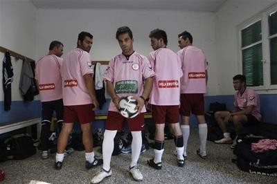 A brothel's soccer team