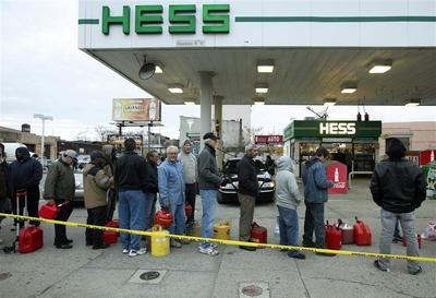 Gas shortage anxiety