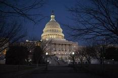 <p>Imagen del archivo del Capitolio, edificio que alberga al Congreso de Estados Unidos. REUTERS/Jonathan Ernst (ESTADOS UNIDOS - POLITICA)</p>