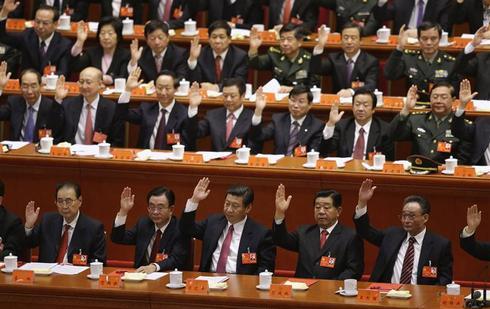 China's power handover