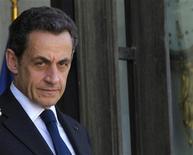 <p>Nicolas Sarkozy sera entendu jeudi à Bordeaux dans l'enquête sur la fortune de l'héritière de L'Oréal Liliane Bettencourt et sur un éventuel financement illégal de sa campagne présidentielle de 2007, indique le site du Figaro. /Photo d'archives/REUTERS/Philippe Wojazer</p>