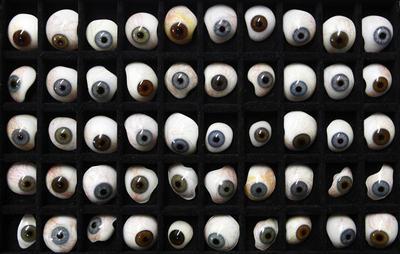 Handmade eyeballs