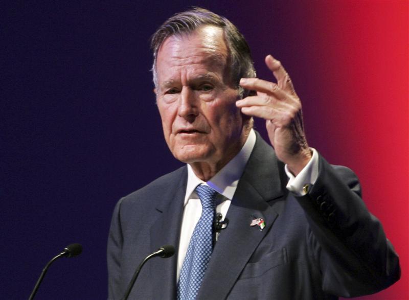 Bush Sr. in intensive care