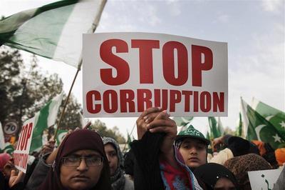 Pakistan anti-corruption march
