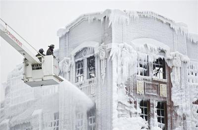 Chicago's deep freeze