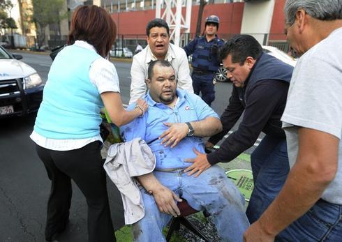 Explosion in Mexican skyscraper