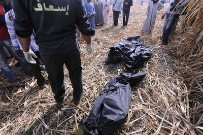 Balloon tragedy in Egypt