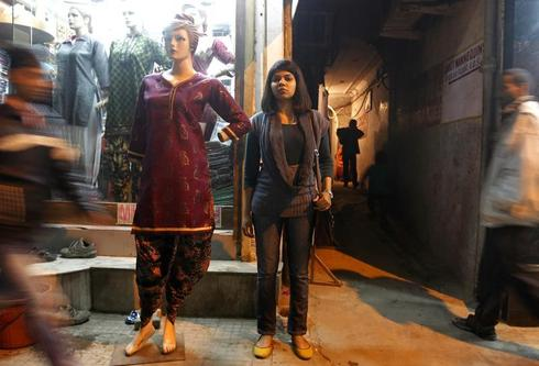 Mannequins in India