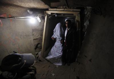 Smuggling a bride under Gaza