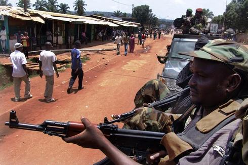 Coup in Central African Republic