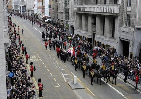Funeral for Thatcher