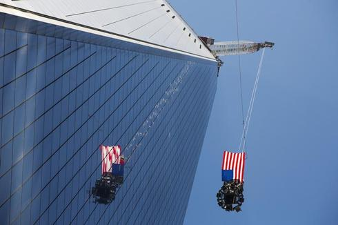 World Trade Center nears completion