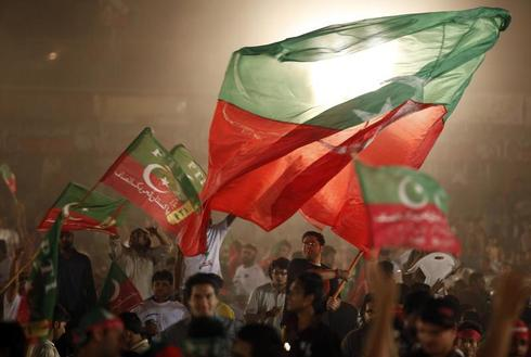 Election rallies in Pakistan