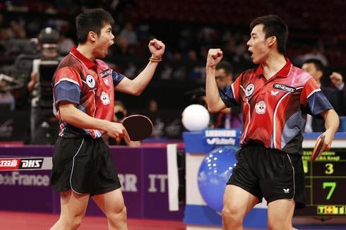 Kings of ping pong