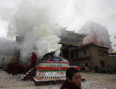 Burning for Tibet