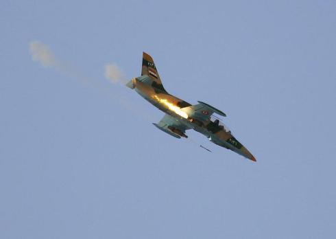 Syria's dangerous sky