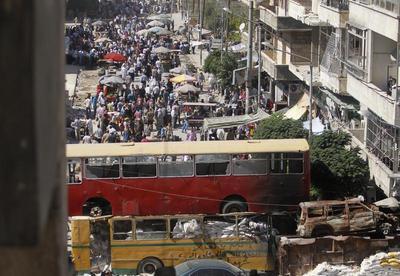 Aleppo divided