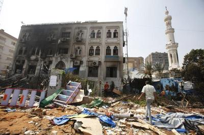 Aftermath in Egypt