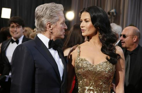Douglas and Zeta-Jones split