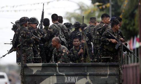 Philippine rebel standoff