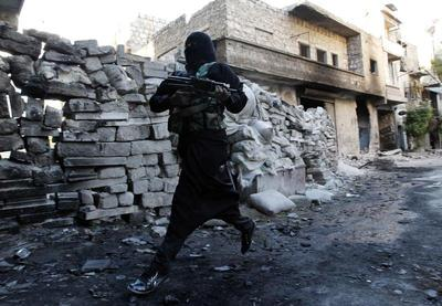 Syria's female rebel soldiers