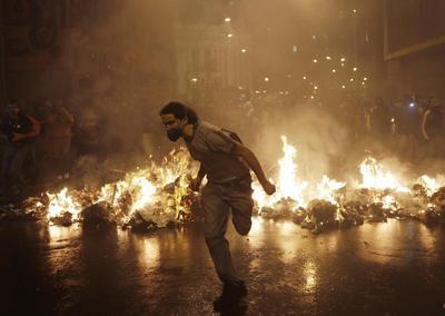 Riots in Brazil