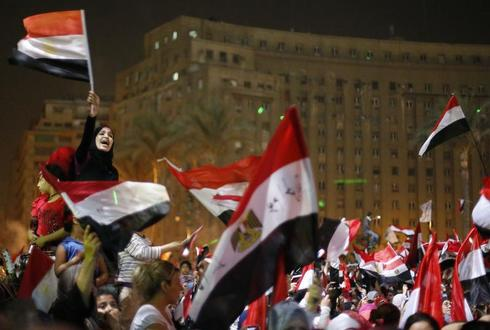 The overthrow of Mursi