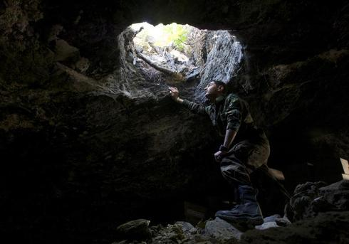Syria's cave hideouts