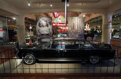 JFK's death car