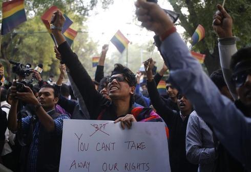 India's gay community