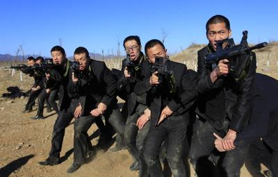 China's bodyguard school