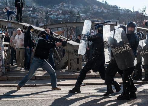 Unrest in Bosnia