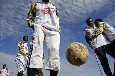 Sicily's migrant soccer squad