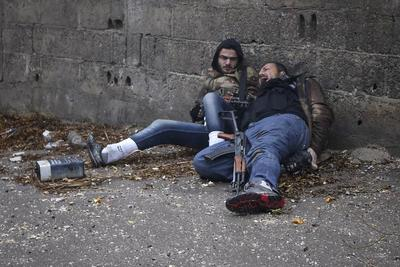 Syria images win World Press award